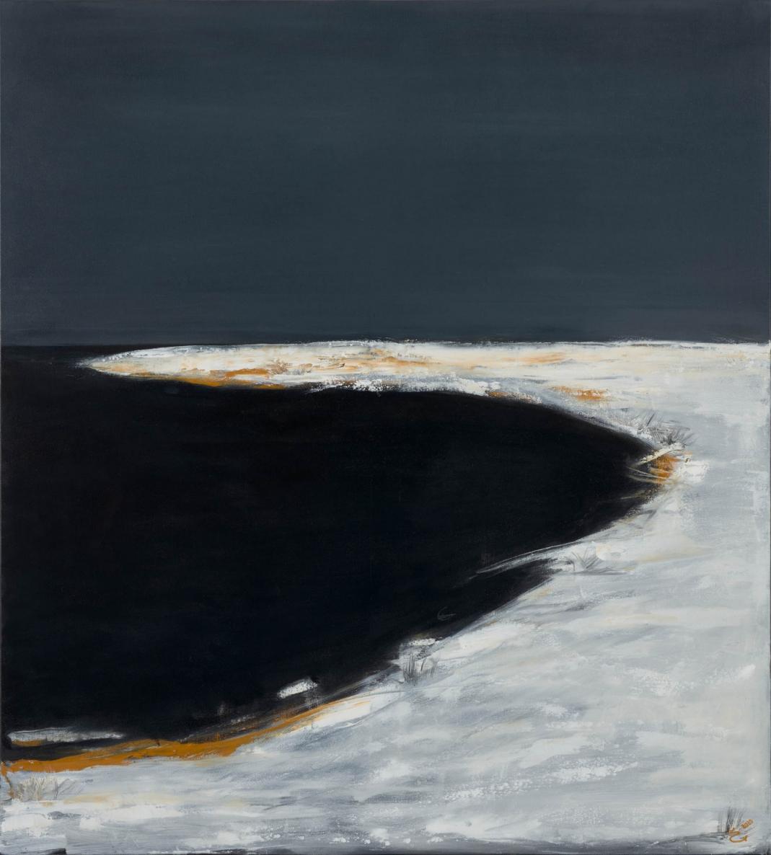 Iš ciklo Žiema Vll, 2020, drobė, aliejus, 100x110cm