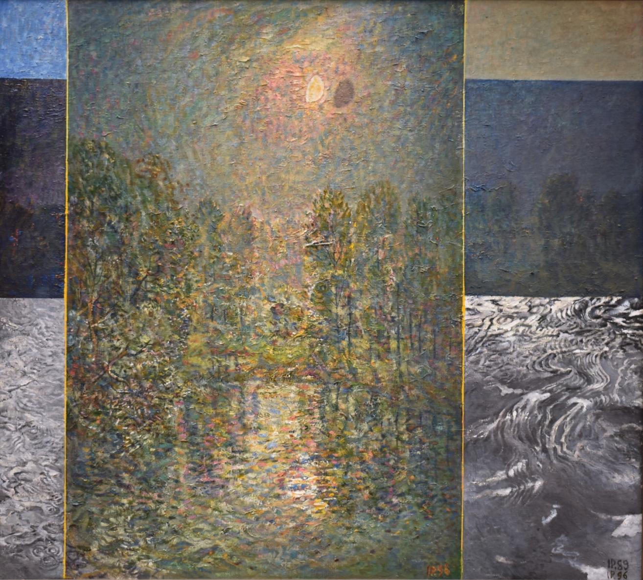 Naktis, 1989-96, drobė, aliejus, 146x162cm