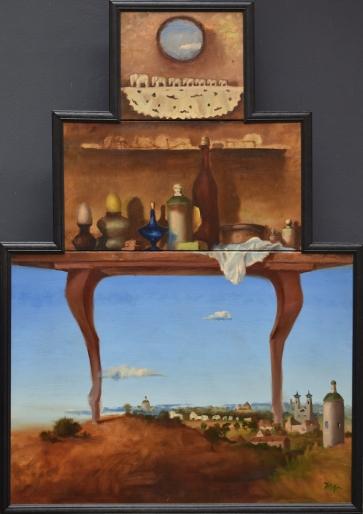 Natiurmortas, 1998, drobė, aliejus, 142x101cm